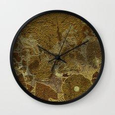 Art nouveau background I Wall Clock