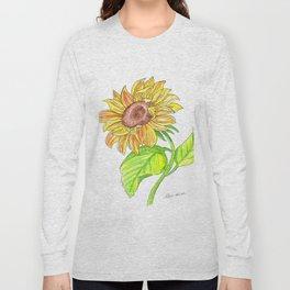 Sunny Sunflower Long Sleeve T-shirt