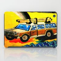 hunting iPad Cases featuring Gold Hunting by C Z A V E L L E