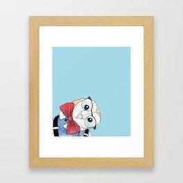 Dapper Owl Framed Art Print