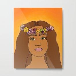indigo girl Metal Print
