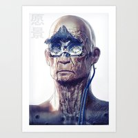 android Art Prints featuring Android by Ben Mauro