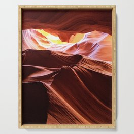 Antelope Canyon: Look up Serving Tray