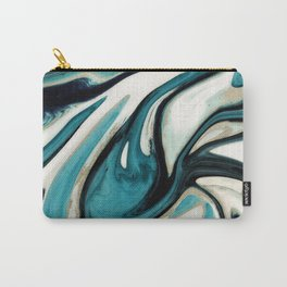 agate slice, geode art, geode agate, agate art, contemporary art, abstract geode, abstract art Carry-All Pouch