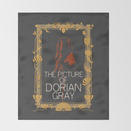 BOOKS COLLECTION: Dorian Gray Throw Blanket