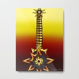 Fusion Keyblade Guitar #36 - Omega Weapon & Abaddon Plasma Metal Print