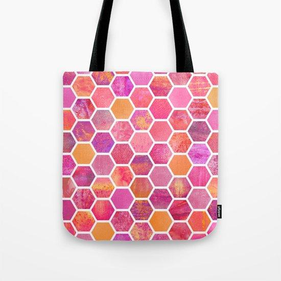 Flowers & Honey Tote Bag