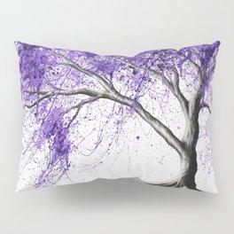 Purple Tree Pillow Sham