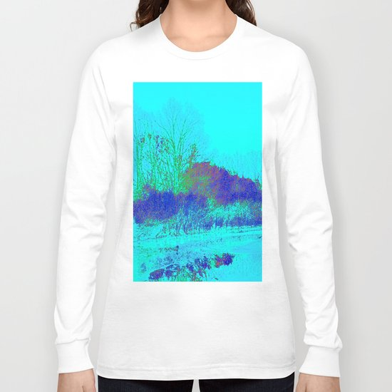 Emerging from the fog Long Sleeve T-shirt
