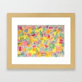 Winter Brights Framed Art Print
