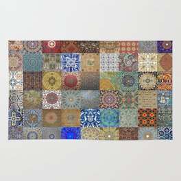 Persian Art Montage Rug