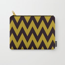 Team Spirit Black and Gold Carry-All Pouch