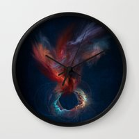 spirit Wall Clocks featuring Spirit by jbjart