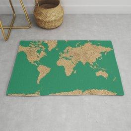 Sand balls - Organic World Map Series Rug