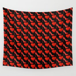f3f57d5f6ec high heel wall tapestries | Society6