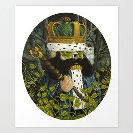 Forest Guardians Art Print
