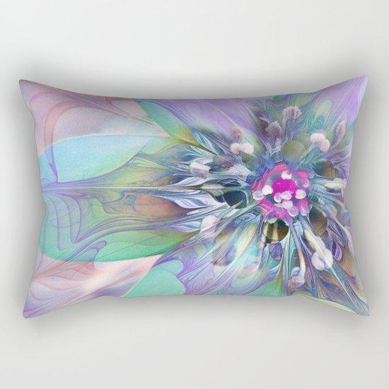 Fractal in Flower Rectangular Pillow