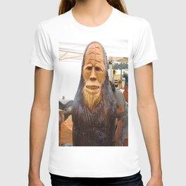 Wood carving Sasquatch T-shirt