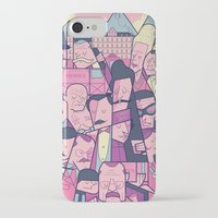 budapest hotel iPhone & iPod Cases featuring Grand Hotel by Ale Giorgini
