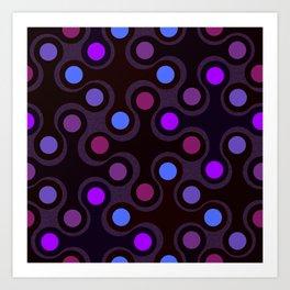Tricky Dots Art Print