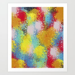 Abstract 30 Art Print