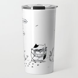 Cat Adventure Travel Mug