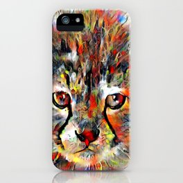 Cub with the heart of a lion iPhone Case