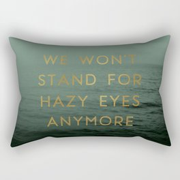 Hazy Eyes Rectangular Pillow