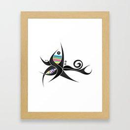 Tribal Tattoo Framed Art Print
