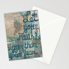 Fear and Faith Stationery Cards