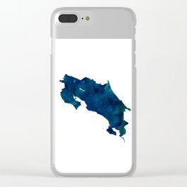 Costa Rica Clear iPhone Case
