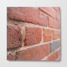 Brick Photography, Urban Photo, Boston Metal Print