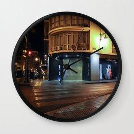 GHOSTHOUR - Valencia - Spain Wall Clock
