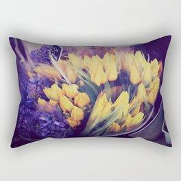 Yellow Tulips from Notting Hill Rectangular Pillow
