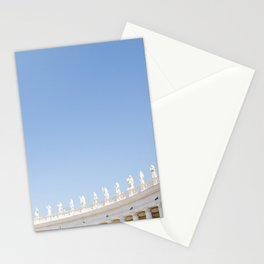 Rome 0001: Saint Peters Square, Piazza San Pietro, Vatican City, Rome, Italy Stationery Cards