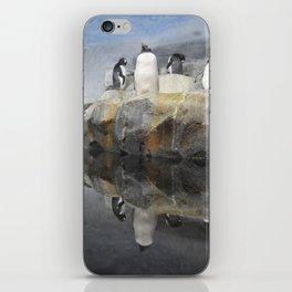 Penguin Reflection iPhone Skin