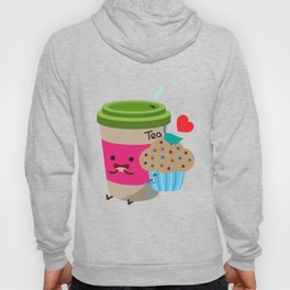 Tea and Muffin Hoody