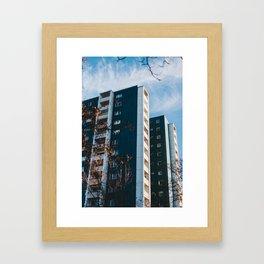 High-Rise Framed Art Print