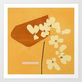 abstract minimal 53 Art Print