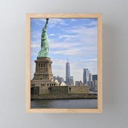 Lady of Freedom Framed Mini Art Print