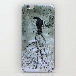 Raven Night iPhone Skin