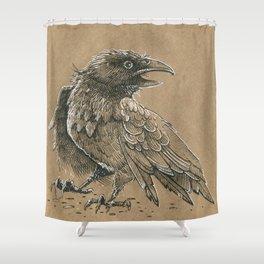 Raven / Crow Shower Curtain