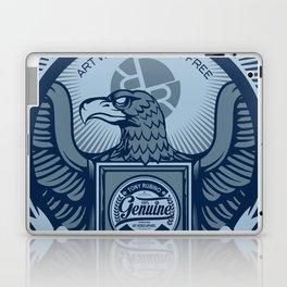 Rubino Blue Propaganda Laptop & iPad Skin
