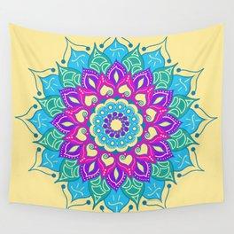 Bright and Beautiful Mandala Wall Tapestry