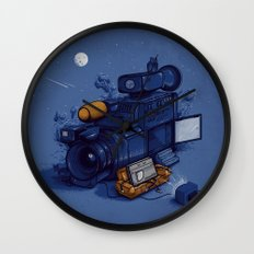 Movie Break Wall Clock