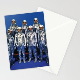 ASTRONAUTS & BUTTERFLIES Stationery Cards