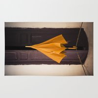 umbrella Area & Throw Rugs featuring Umbrella by Maria Heyens