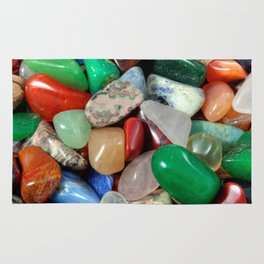 Colorful Stones Texture Rug
