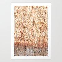ombre Art Prints featuring Ombre  by Yaara Ben-Dor