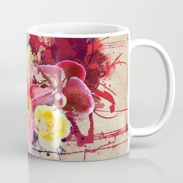 Country Floral Coffee Mug